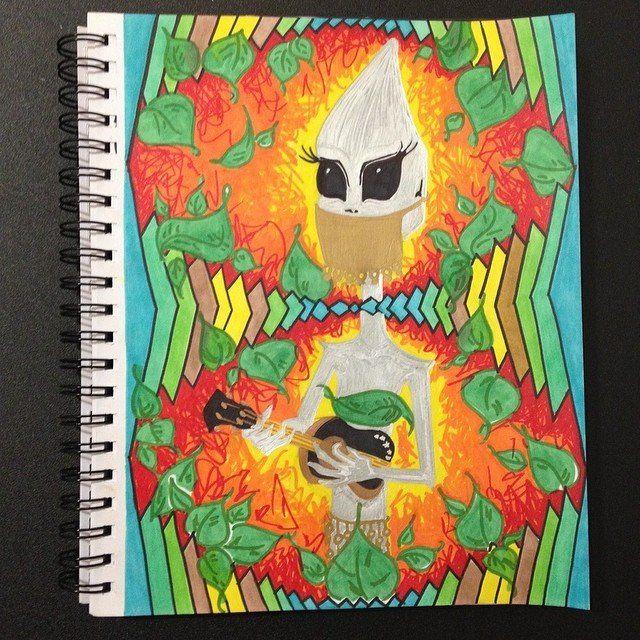 Alien Hodgepodge - Nizz Bomb Art
