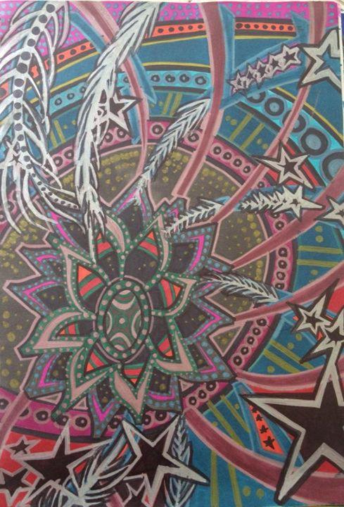 Into the Wormhole - Nizz Bomb Art