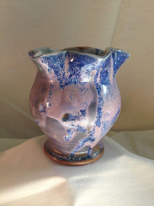 """vase """" Violet tulip"""" 2 - Maria's Gallery"""