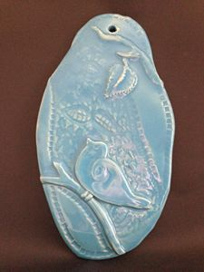 "Wall sculpture ""Early Bird"""