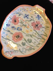 "Decorative Plate ""Summer"""