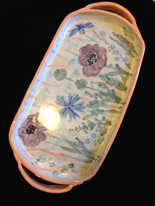"Decorative Tray "" Summer """