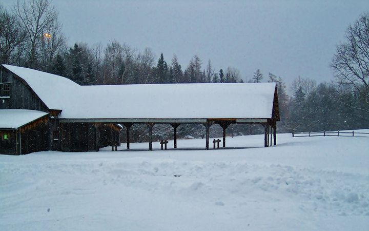 The Snowy Barn - Jacqueline Rodriguez