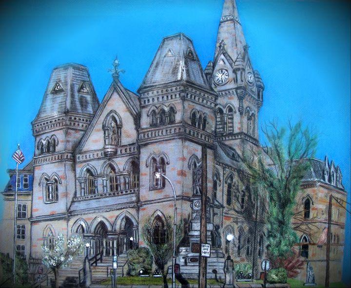 Historical Blair County Courthouse - TAMMY STUBBS
