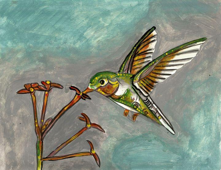 hummingbird - Americo Salazar