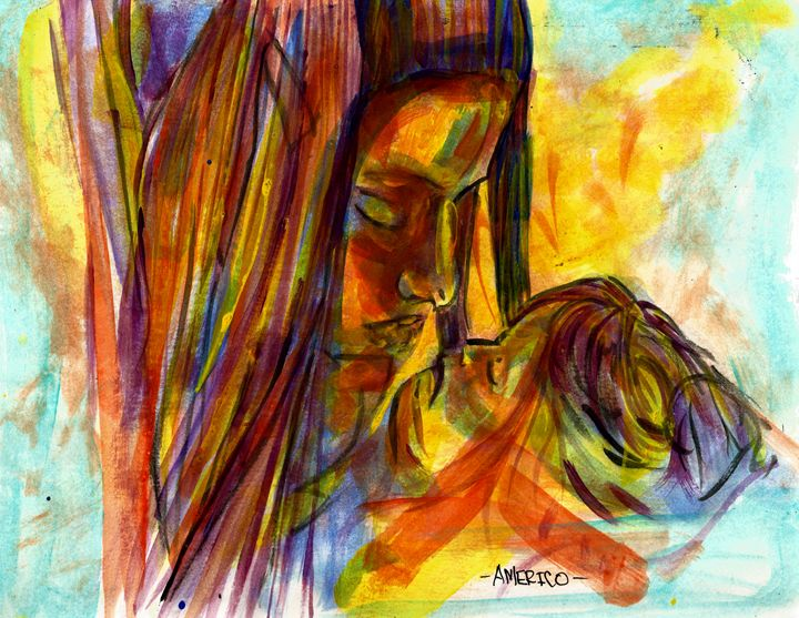 Mother and Child - Americo Salazar