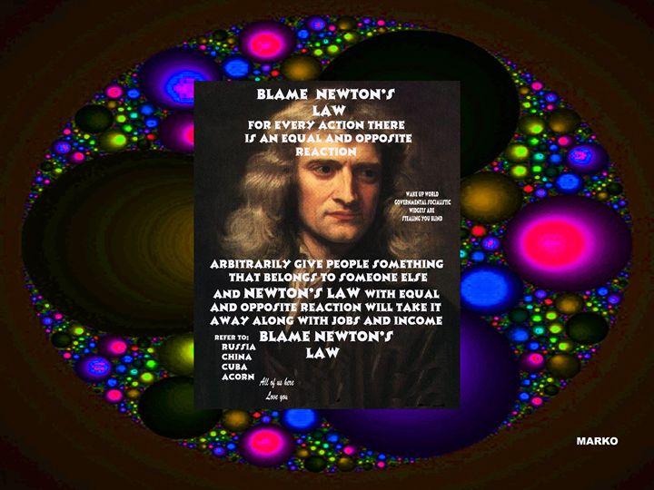 BLAME NEWTONS LAW #2 - FANTASORIUM