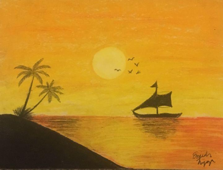 Tropical Sunset - Emily Lyga