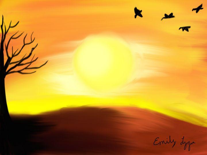 Warm Sunrise - Emily Lyga