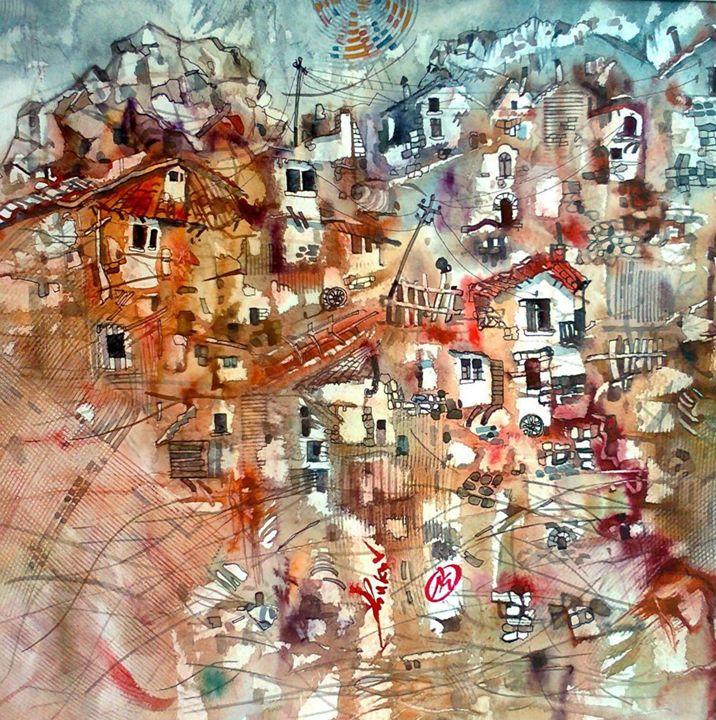 "City jungle - gallery ""Absinthe"""