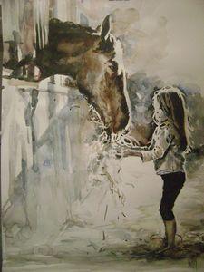 "Horse - gallery ""Absinthe"""