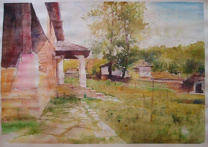 "Landscape I - gallery ""Absinthe"""