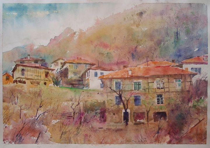 """Landscape II - gallery """"Absinthe"""""""