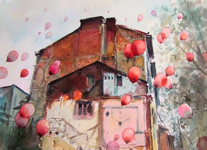"City III - gallery ""Absinthe"""