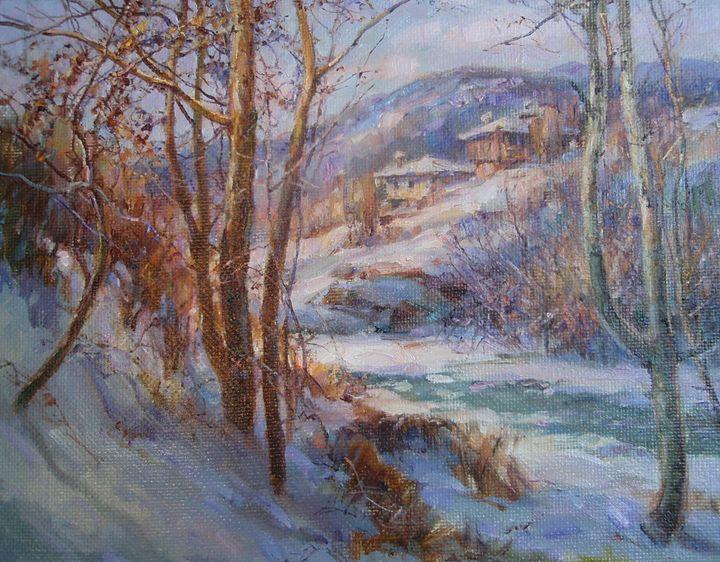 """Winter - gallery """"Absinthe"""""""