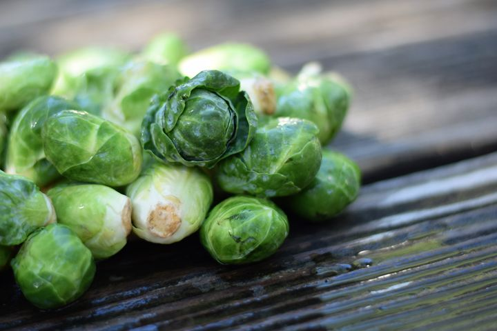 Fresh Brussel Sprouts - Anna | Reyna Photography