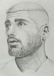 Zayan Malik Drawing