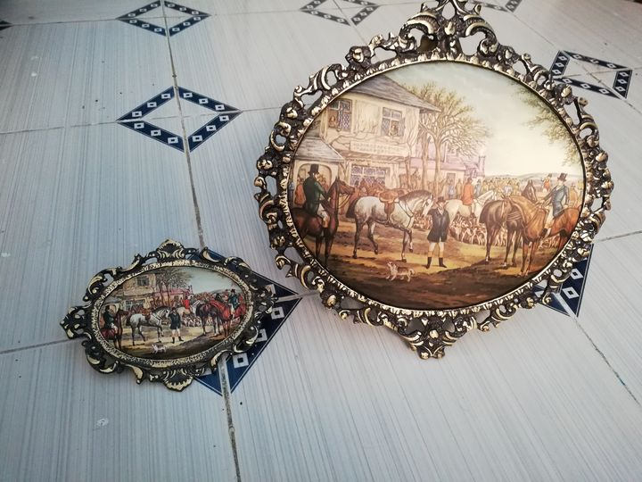 copper frames - Menna Adel Gallery