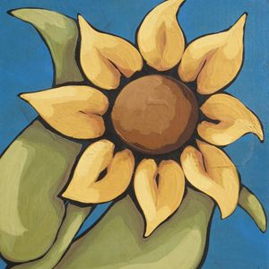 SUNFLOWER - Annie Lane Folk Art
