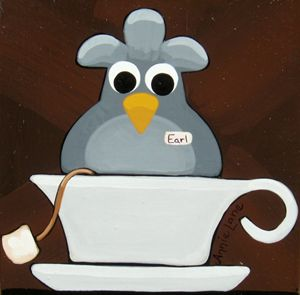 EARL GREY - Annie Lane Folk Art