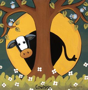 Cowhide - Annie Lane Folk Art