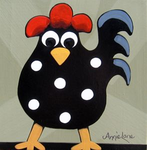 Senor Rooster - Annie Lane Folk Art