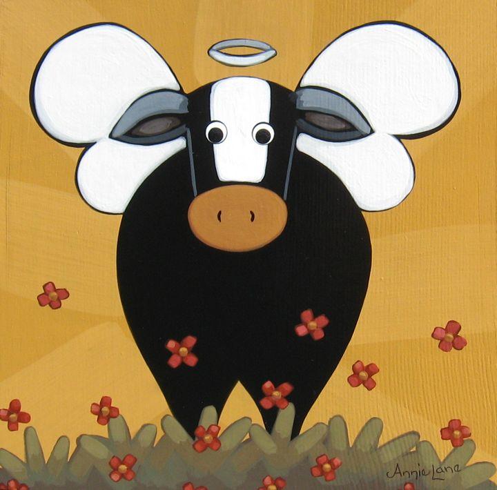 !! HOLY COW !! - Annie Lane Folk Art