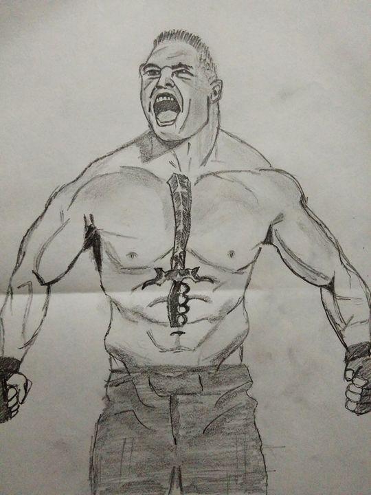 Brock Lesnar - Aditya Pandey