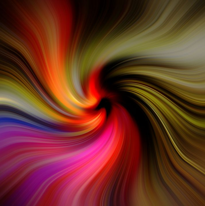 Coloured Swirl - Mel Beasley ARPS