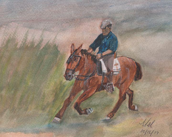 Vaquero - Mel Beasley Arts