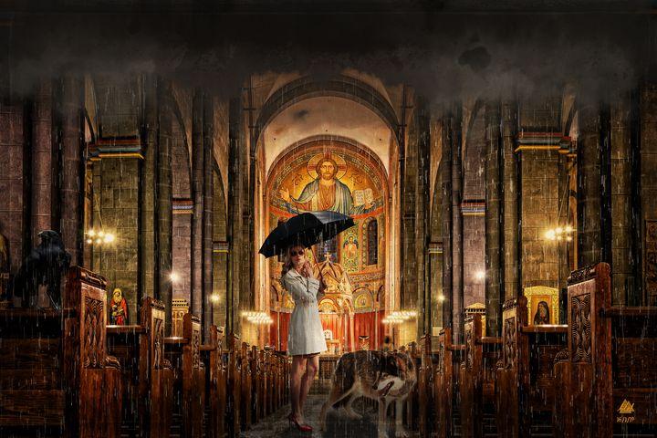 It's Raining - Mel Beasley Arts