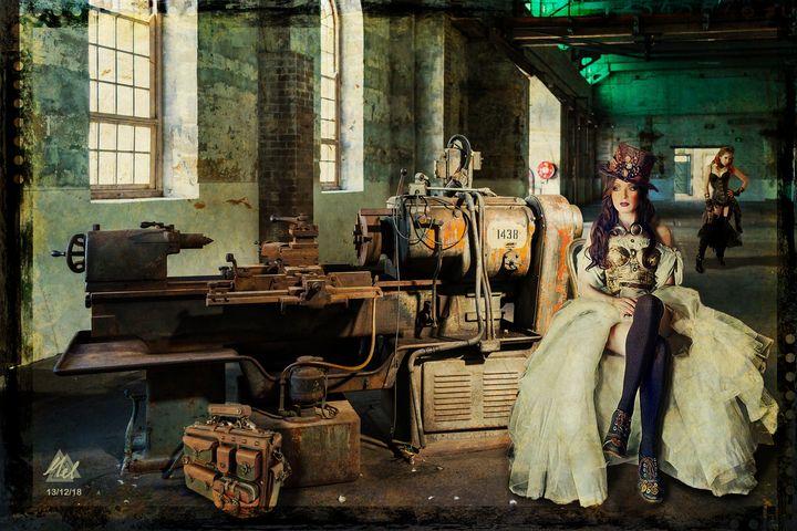 Steampunk 7 - Mel Beasley Arts