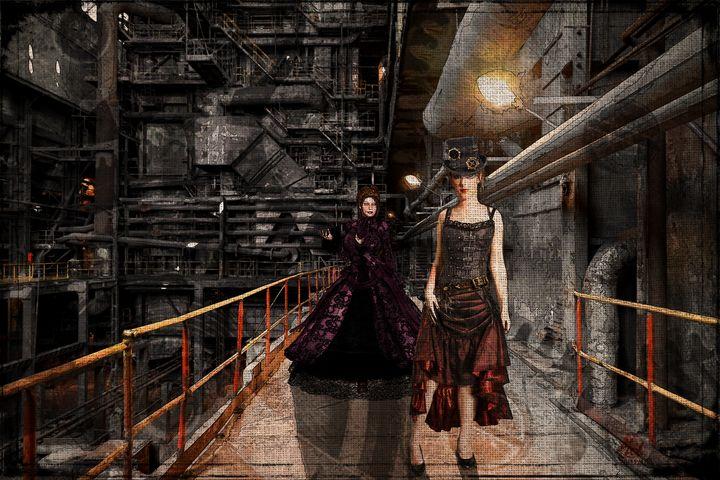 Steampunk 8 - Mel Beasley Arts