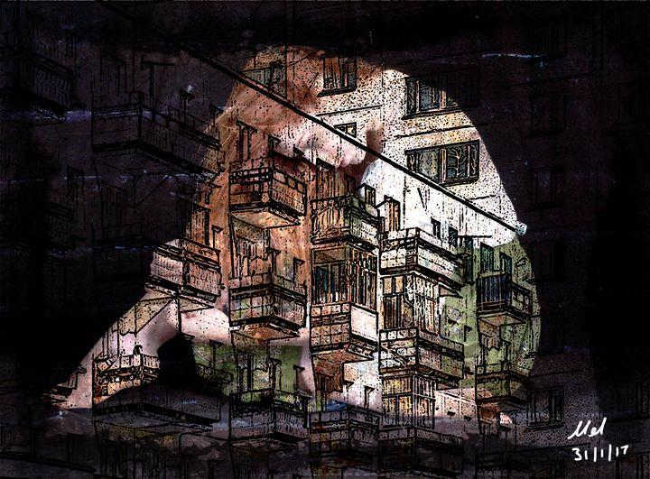 Oppression - Mel Beasley Arts