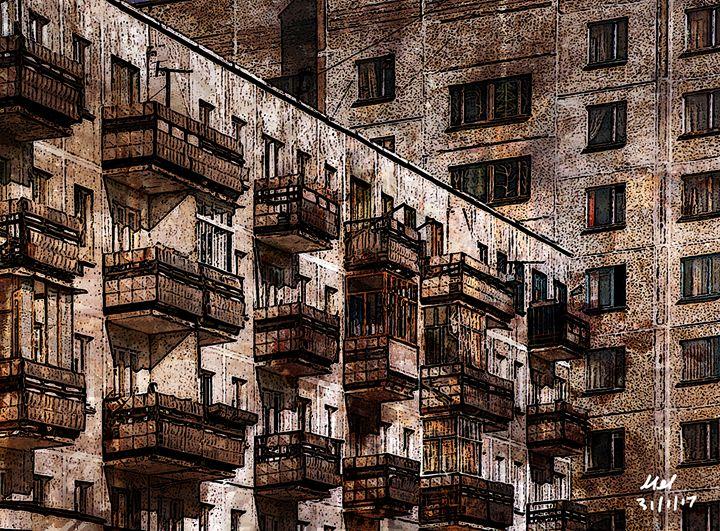 Soviet Living. - Mel Beasley Arts