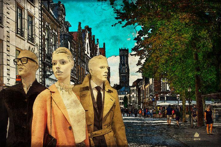 Dummies Abroad - Mel Beasley Arts