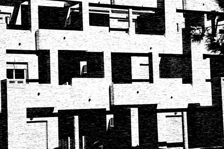 Apartment Block - Mel Beasley ARPS