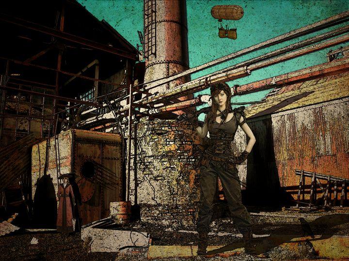 Steampunk 9 - Mel Beasley Arts
