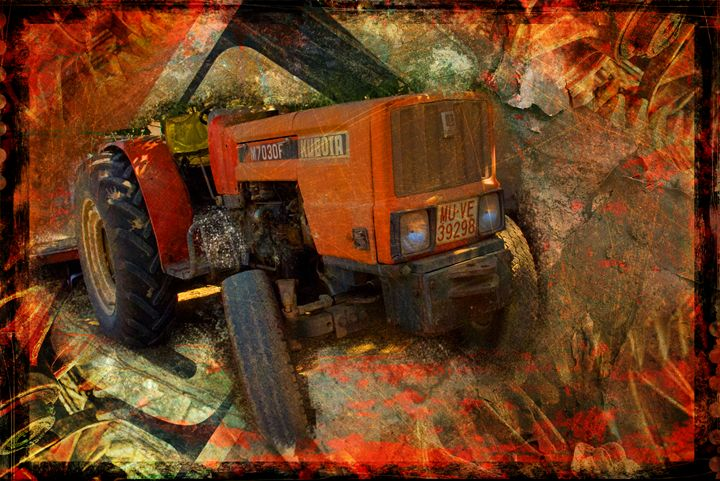 Tractor. - Mel Beasley ARPS