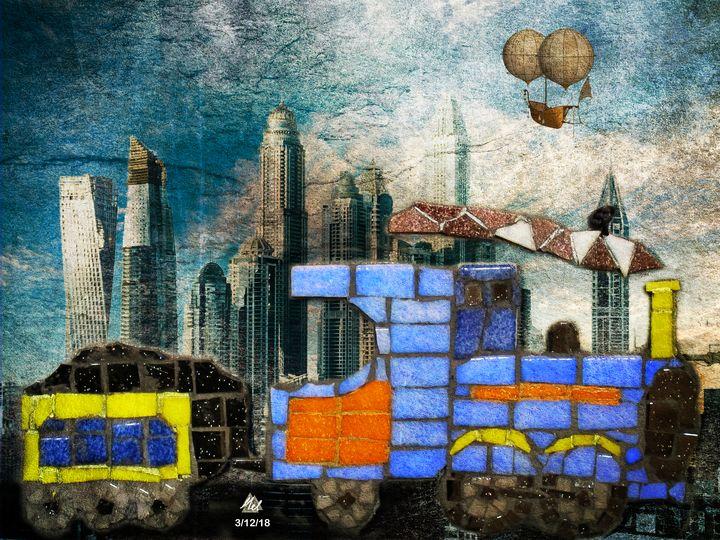 Train - Mel Beasley Arts