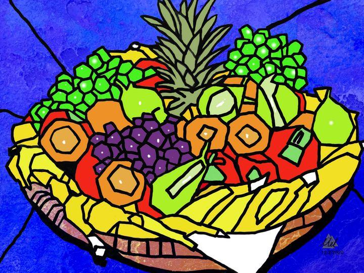 Still Life, Fruit - Mel Beasley Arts