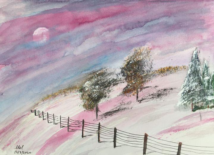 Snowscape - Mel Beasley Arts