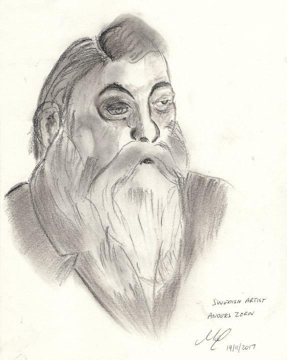 Anders Zorn - Mel Beasley Arts