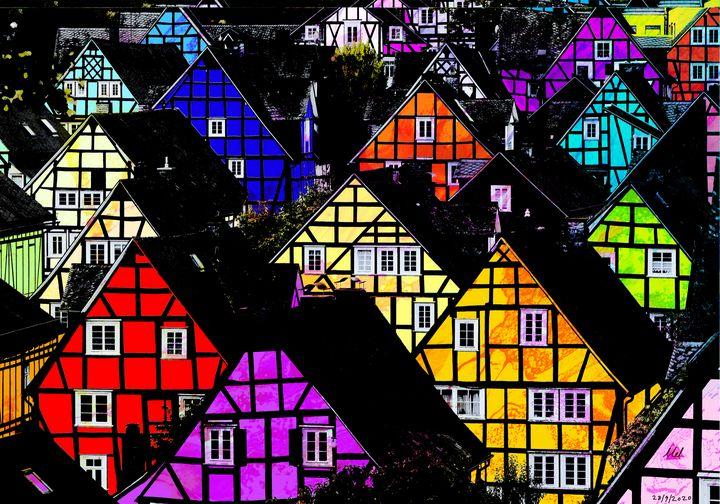 Town - Mel Beasley Arts