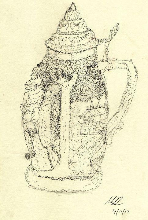 Bier Stein - Mel Beasley ARPS
