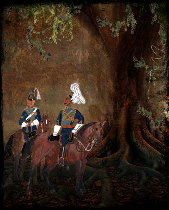 21st (Empress of India's) Lancers - Mel Beasley Arts