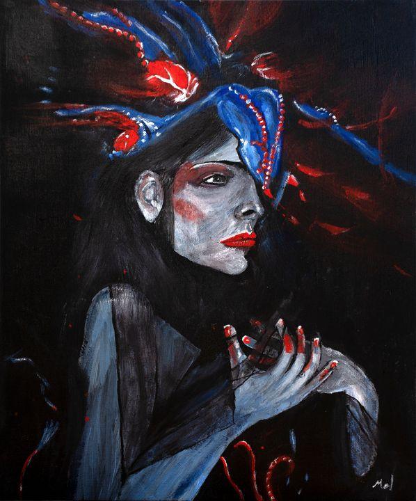 Grey Lady - Mel Beasley Arts