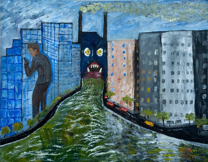Modern Slavery in a Souless Society - Mel Beasley Arts