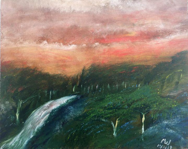 Sunset - Mel Beasley Arts