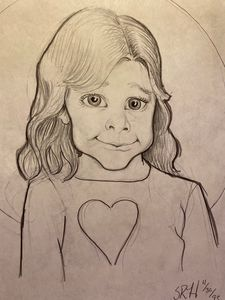 Girl Caricature